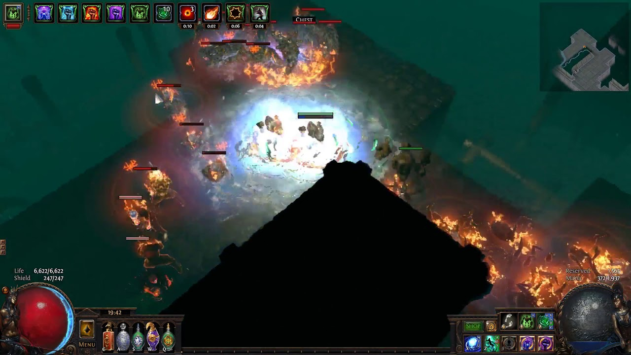 PoE 3 3 Blade Vortex Witch Build - poe currency - Medium