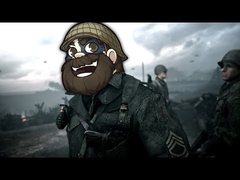 Trying out the new Call of Duty WW2 Campaign