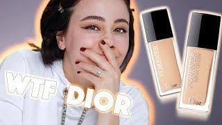 Yeeaaahh Dior 😝die neue FOREVER Foundation in GLOW und MATT als First Impression 🔥 Hatice Schmidt