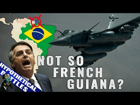 Could Brazil take French Guiana from France if it wanted to? (2020)
