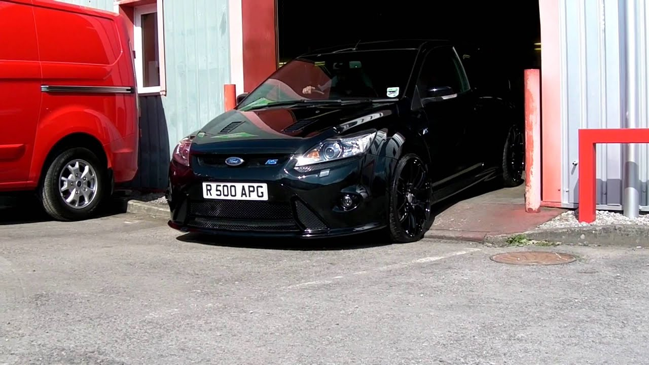 ford focus rs rs500 turbo back exhaust system youtube. Black Bedroom Furniture Sets. Home Design Ideas