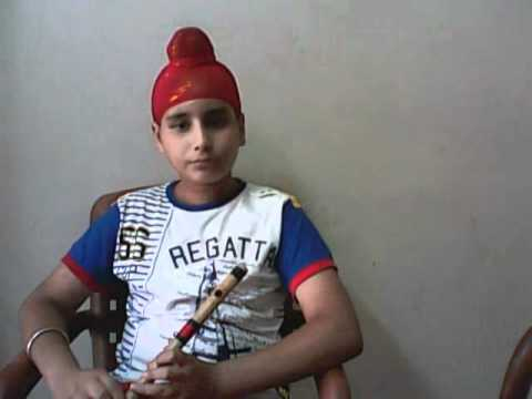 +919302570625 titanic on flute by Sahejdeep son of famousflute player baljinder singh India.wmv