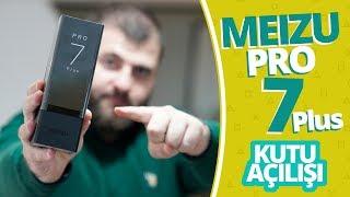İki ekranlı telefon Meizu Pro 7 Plus kutusundan çıkıyor!