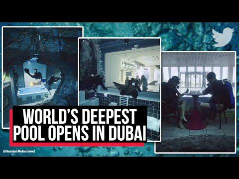 World's deepest pool opens in Dubai, part of huge underwater city | Deep Dive Dubai | Cobrapost