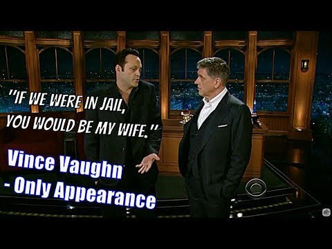 Vince vaughn - He Is Extremely & Hilariously Argumentative - His Only Appearance [Text & Imagery]