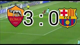 Roma против Barselona.3:0.Обзор матча-10.04.2018