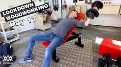 I finished the adjustable incline weight bench! LOCKDOWN DAY 17 | Building the home gym.