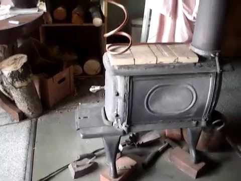 - How To Make Airtight Vogelzang Boxwood Stove - YouTube