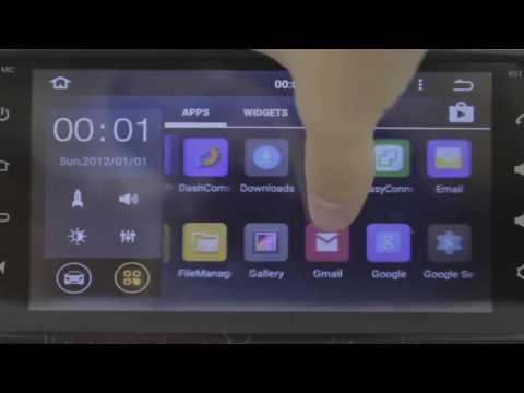 "6.95"" Radio Multimedia GPS Wifi Android 5.1 para Toyota"