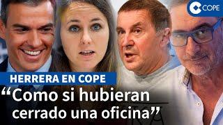 """Herrera no se muerde la lengua ante Ione Belarra sobre la """"actividad"""" de ETA"""