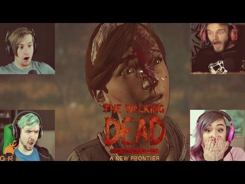 Gamers Reactions to Mari getting killed | The Walking Dead - A New Frontier |