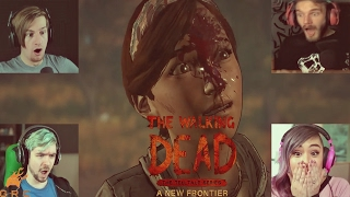 Gamers Reactions to Mari getting killed | The Walking Dead - A New Frontier