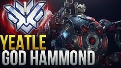 "Best Of ""Yeatle"" RANK 1 HAMMOND GOD - Overwatch Montage"
