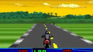 Harley Davidson Motor Cycles, Race Across America USA - Game Boy Color