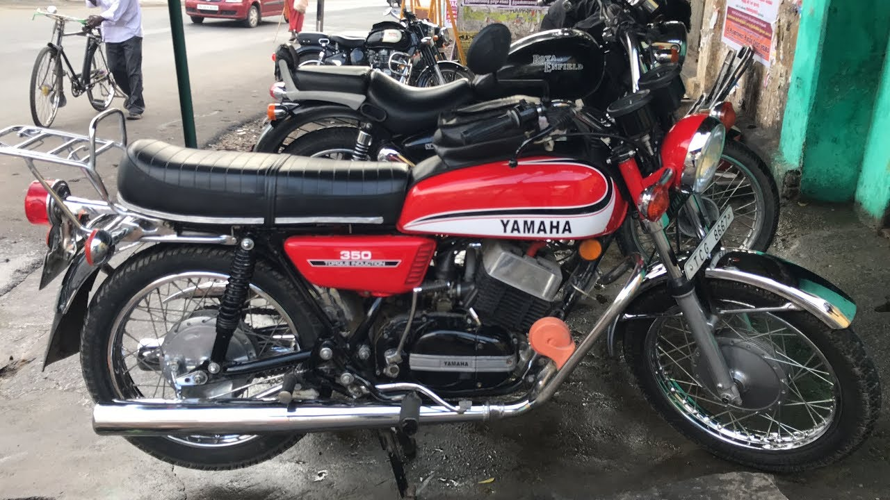 Yamaha rd exhaust
