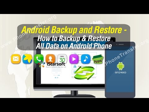 Android Backup and Restore - How to Backup & Restore All Data on Android Phone