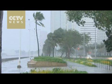 Powerful Typhoon Koppu hits northern Luzon, Philippines