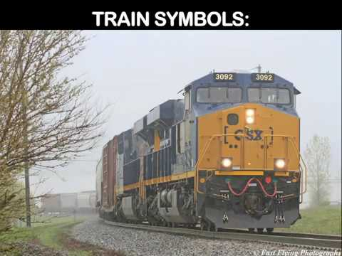 Learn How The Railroad Works Train Symbols Youtube