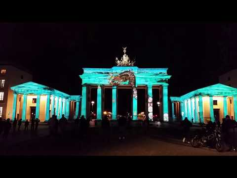 FESTIVAL OF LIGHTS Berlin 2017 - Brandenburger Tor