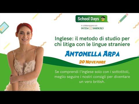 Inglese: il metodo definitivo - School Days Webinar | Antonella aka Himorta