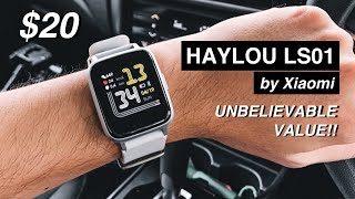 Xiaomi Haylou LS01 Review - An Awesome $20 Budget Smartwatch!