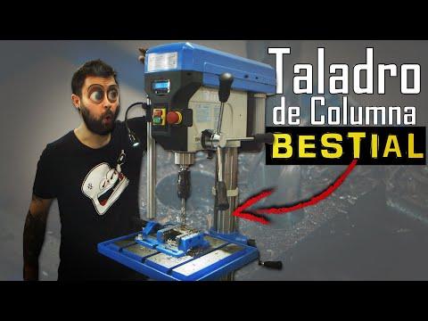 ¡La Bestia Parda de los Taladro de Columna HBM!