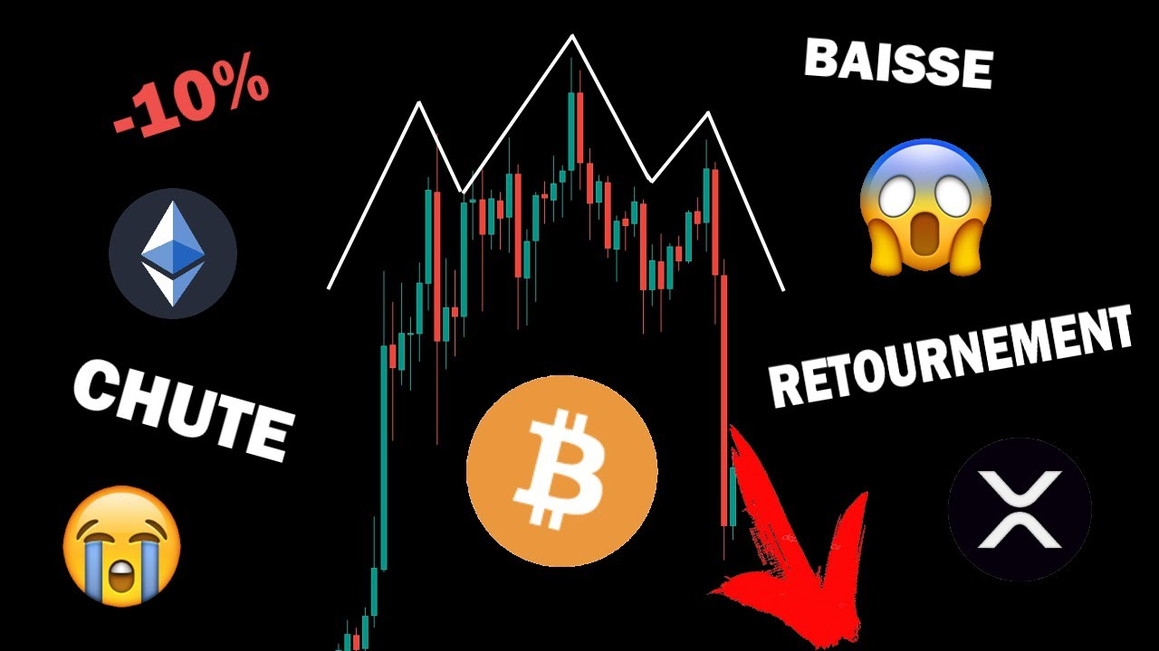 BITCOIN RETOURNEMENT BAISSIER OU CORRECTION PASSAGÈRE ?! +ETH RÉSISTE ! analyse crypto monnaie fr