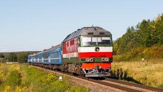 ТЕП70-0384 ''Євген Володько'' з поїздом №605 Вітебськ-Брест
