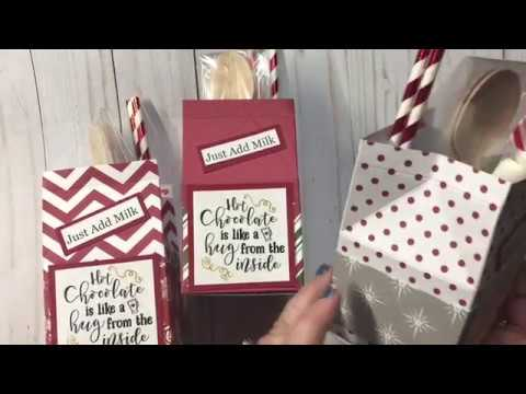Hot Cocoa Milk Carton- Craft Fair Project
