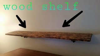 Build Free Floating Shelf
