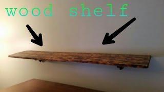 Build Free Floating Shelf