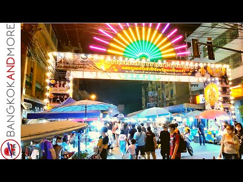 THAILAND Street Food Festival CHACHOENGSAO