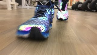 Altra Impulse Flash Shoes In Action At The Gym