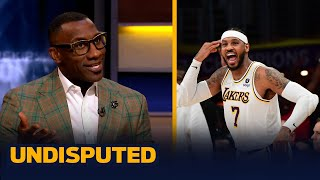 Melo leads Lakers to first win of the season — Skip and Shannon discuss | NBA | UNDISPUTED