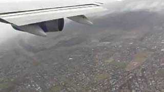 Boeing 747 Takeoff in Storm at Cape Town - British Airways