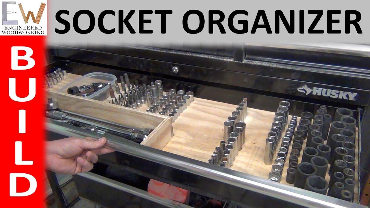 Build the Best Socket Organizer - DIY - YouTube