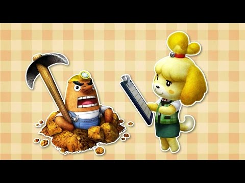 Monster Hunter 4 Ultimate - Animal Crossing Trailer
