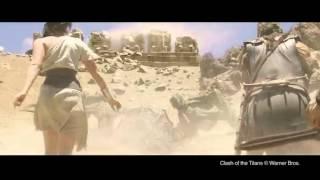 как снимали битву титанов