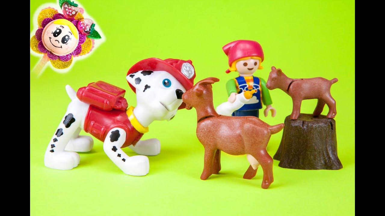 La patrulla canina rescate en la granja playmobil for La granja de playmobil precio
