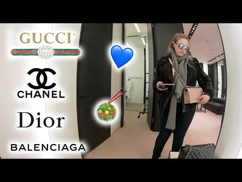 Weekend Collective Luxury Vlog: Gucci, Dior, Balenciaga, Chanel, & Lunch!