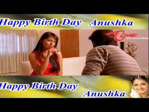 Happy Birthday To - Indian Film Actress - Sweety - Anushka Shetty