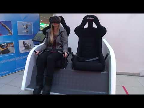 Motion simulator for VR ADVENTURES DOUBLE SIM