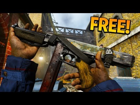 """NEW FREE EPIC M1928 """"BUCK PRIVATE"""" VARIANT GAMEPLAY in COD WW2! (COD WW2 FREE EPIC WEAPONS)"""