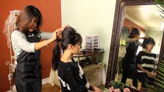 How to Get a Ponytail With a Hump : Tress to Impress