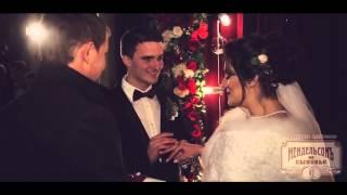 Тизер. Зимняя свадьба в цвете Марсала.