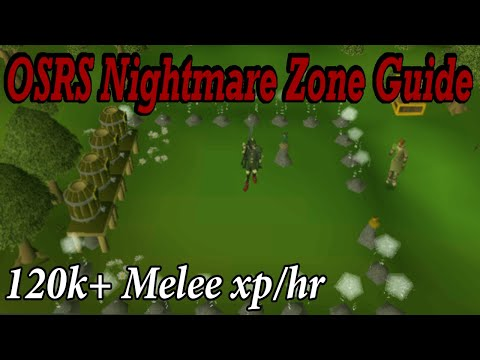 OSRS Nightmare Zone Guide | Old School Runescape NMZ Melee XP Guide