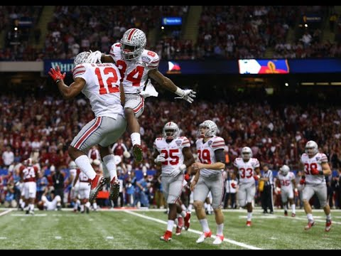 Ohio State Vs Alabama 2015 Sugar Bowl Youtube