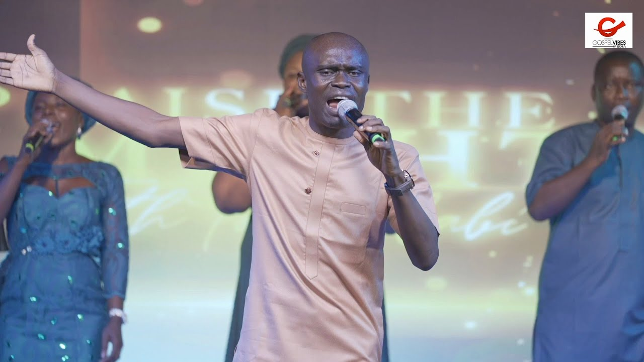 Download Lekan Remilekun Amos with an Unusual Praise at PRAISE THE ALMIGHTY WITH TOPE ALABI 2021