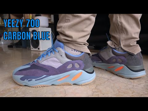 WHY IS THE YEEZY 700 CARBON BLUE SO
