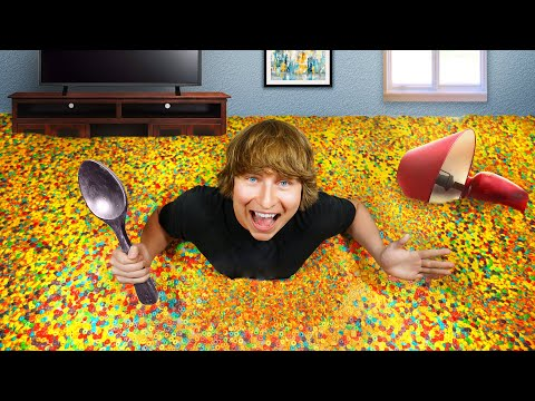 I Turned My Bedroom Into A Cereal Bowl!